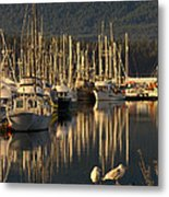 Deep Bay Metal Print