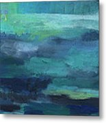 Tranquility- Abstract Painting Metal Print