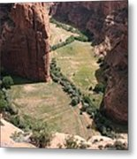 Deep Canyon De Chelly Metal Print