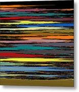 Deep Color Field 2 Metal Print