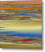 Deep Color Field 4 Metal Print