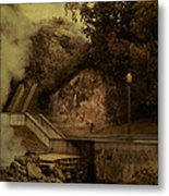 Deep Down There's Fire Metal Print