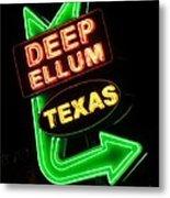 Deep Ellum Metal Print