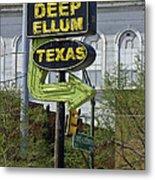 Deep Ellum Texas Metal Print