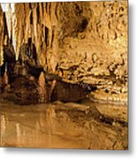 Deep In The Cave Metal Print