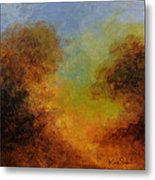 Deep In The Hedgerow Metal Print