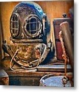 Deep Sea Diver Metal Print