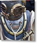 Deep Sea Diving Gear Metal Print