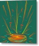 Deep Sea Wonder Metal Print