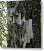 Deer Blind 01 Metal Print