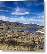 Deer Creek Dam-provo Utah Metal Print