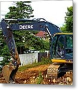 Deere For Hire Metal Print
