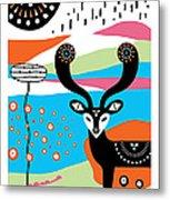 Deery Me Metal Print by Susan Claire