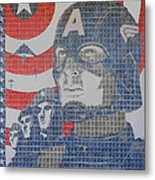 Defend The Nation Metal Print