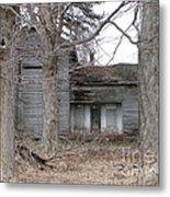 Defunct House Metal Print