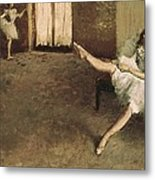 Degas, Edgar 1834-1917. Before Metal Print by Everett
