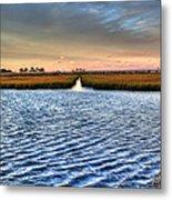 Delaware- Assawoman Bay Metal Print