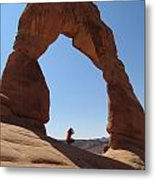 Delicate Arch - Skyview Metal Print