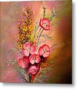 Delicate Beauty Of Spring Metal Print