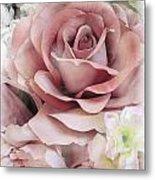 Delicate Rose Metal Print