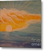 Delightful Rays Of Light Metal Print