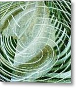 Delightful Swirl Metal Print