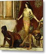 Delilah And The Philistines Metal Print
