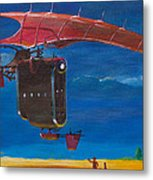 Delivery After The Rain Metal Print