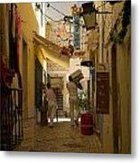 Delivery Metal Print