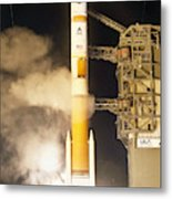 Delta Iv Rocket Taking Off Metal Print