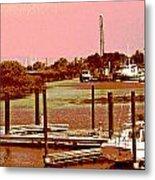 Delta Marina And Hues Of Color Metal Print