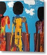 Demoiselles De Marrakesh Metal Print