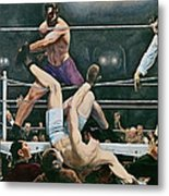Dempsey V Firpo In New York City Metal Print