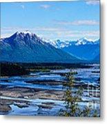 Denali Mountain Range Metal Print