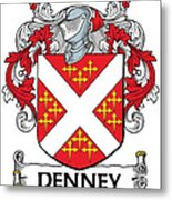 Denney Coat Of Arms Kerry Ireland Metal Print