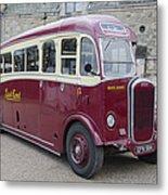 Dennis Lancet Vintage Bus Metal Print