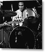 Denny Carmasi On The Drums In 1978 Metal Print