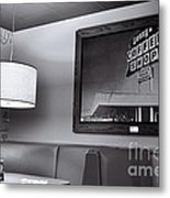 Denny's Then And Now Metal Print
