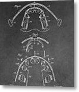Dental Braces Patent Metal Print