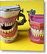 Dental Models Metal Print by Garry Gay