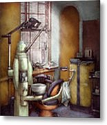 Dentist - Dental Office Circa 1940's Metal Print