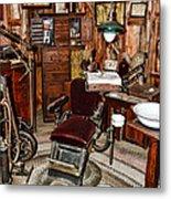 Dentist - The Dentist Chair Metal Print
