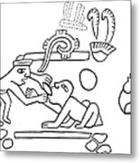 Dentistry, 600 A.d Metal Print