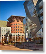 Denver Art Museum Courtyard Metal Print