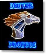 Denver Broncos 2 Metal Print