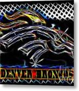 Denver Broncos 3 Metal Print