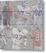 Denver Broncos Legends Metal Print