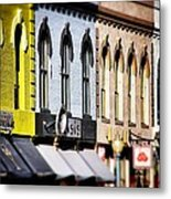 Denver Market Street Tilt Shift Metal Print