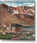 Denver Mountain Parks Antique Post Cards Metal Print