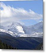 Denver Mountains Metal Print by Julie Palencia